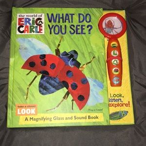 Other - Eric Carl magnifying glass and sound book